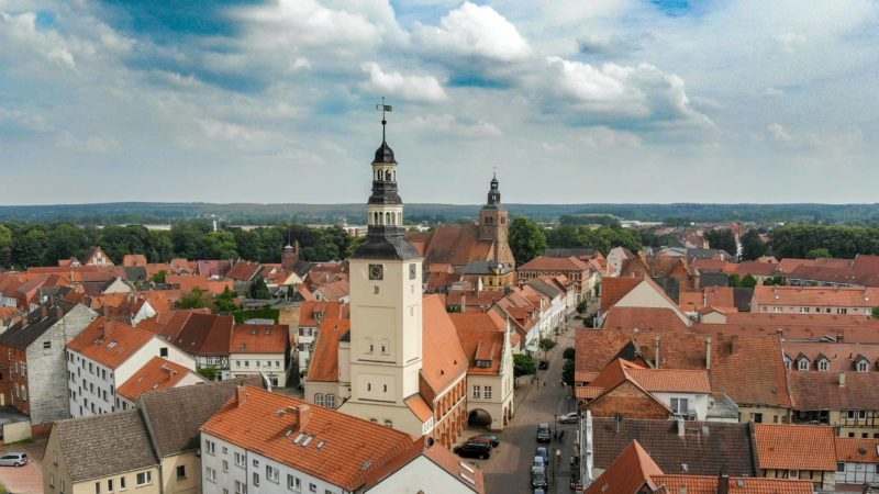 Blick über die Stadt Gardelegen