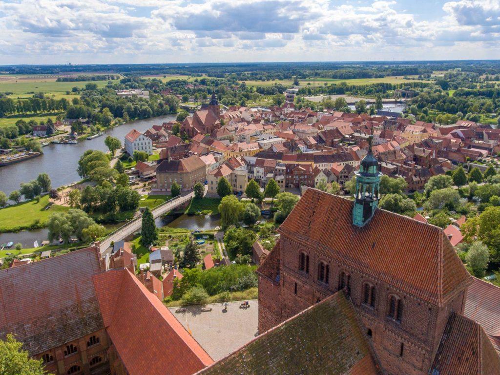 Blick über die Stadt Havelberg