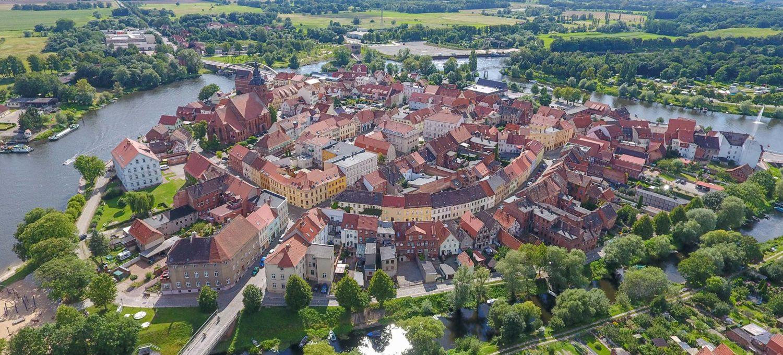 Der Stadtkern Havelbergs