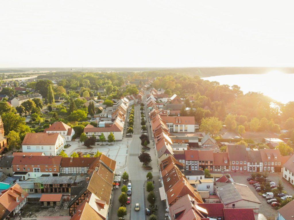 Blick über die Stadt Arendsee