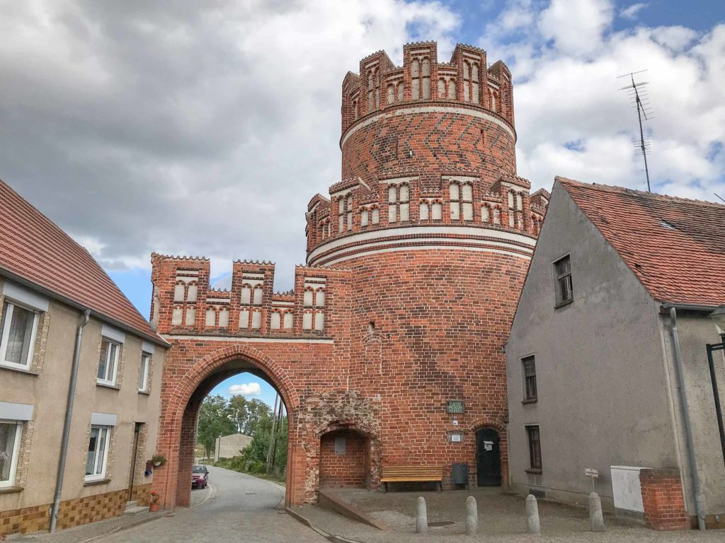 Das Elbtor in der kleinen Hansestadt Werben