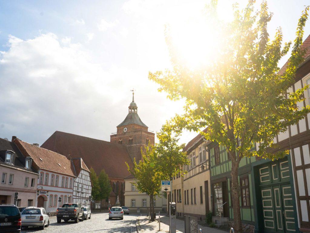 Osterburger Altstadt und Kirche St. Nicolai