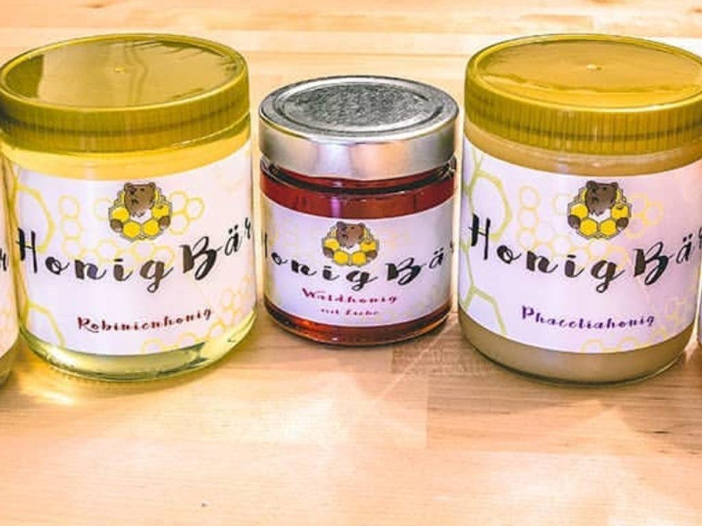Honig der Imkerei Honigbär