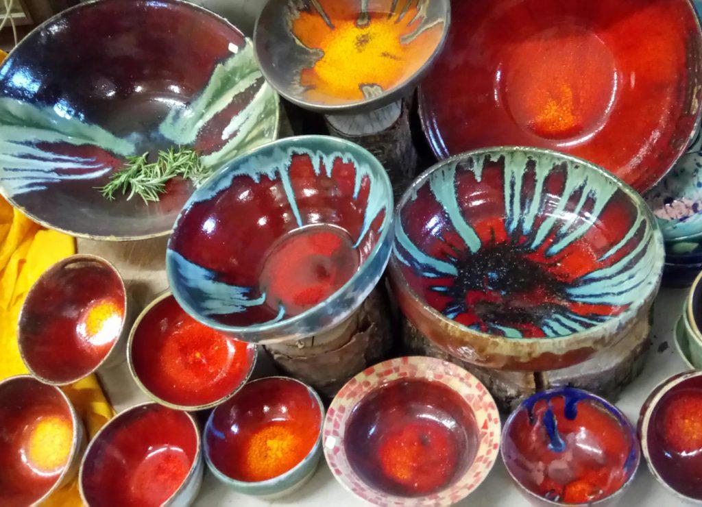 Keramik aus der Drachentöpferei