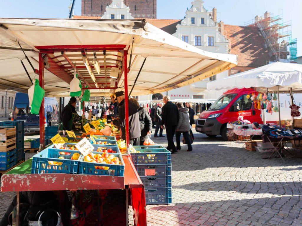 Markttreiben in Stendal