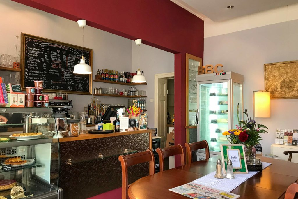 Im Bilderbuchcafé