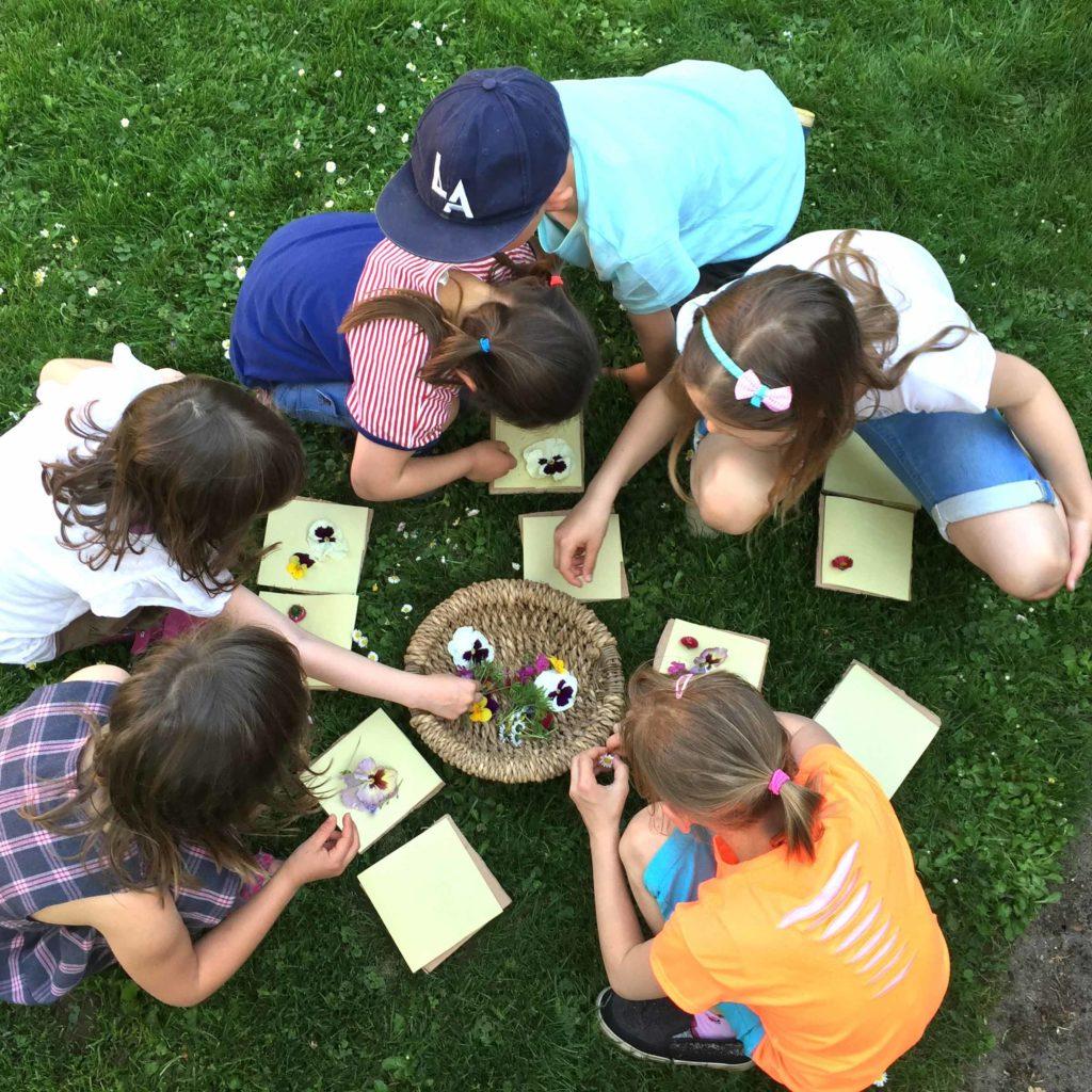 Auch für Kinder gibt es viele Kurse und Aktivitäten auf dem Kreativhof
