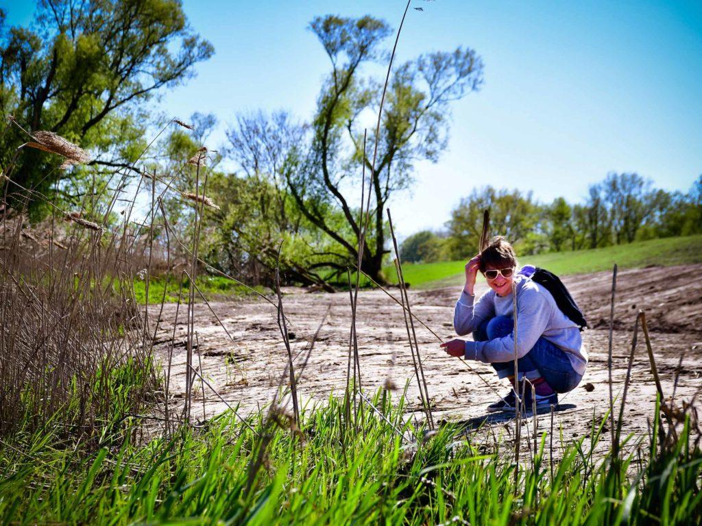 Jana Henning in der Natur