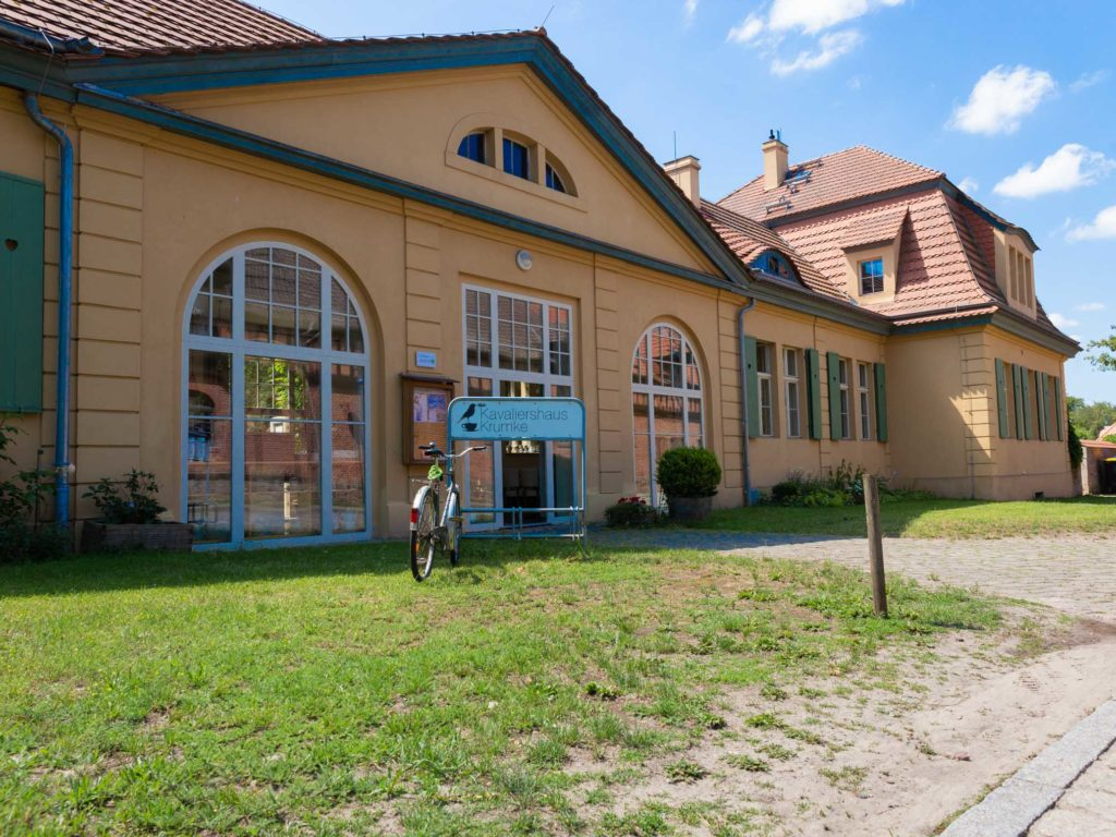 Das Kavaliershaus Krumke im Schlosspark